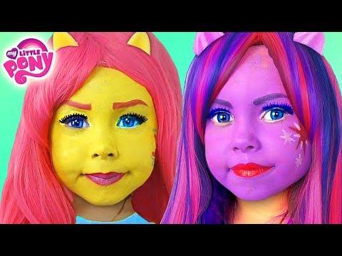 Kids Makeup My Little Pony with Colors Paints Alisa Play Dolls Equestria Girls MLP & DRESS UP thumbnail