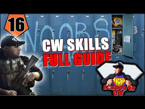 Contract Wars - All About Skills & Skill Guide (School of CW)