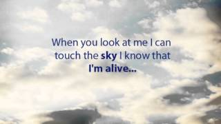 Celine Dion - I am Alive lyrics