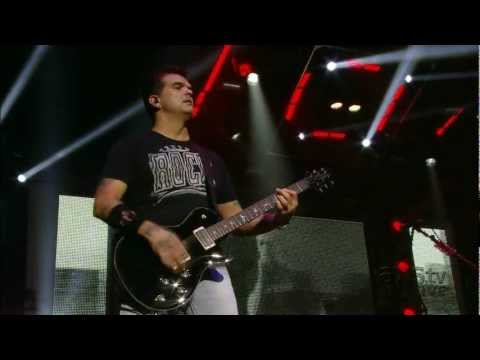 (HD) 3 Doors Down - Duck and Run Live TV 2012 CO