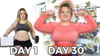 $500 Body Transformation Challenge - 30 DAY RESULTS
