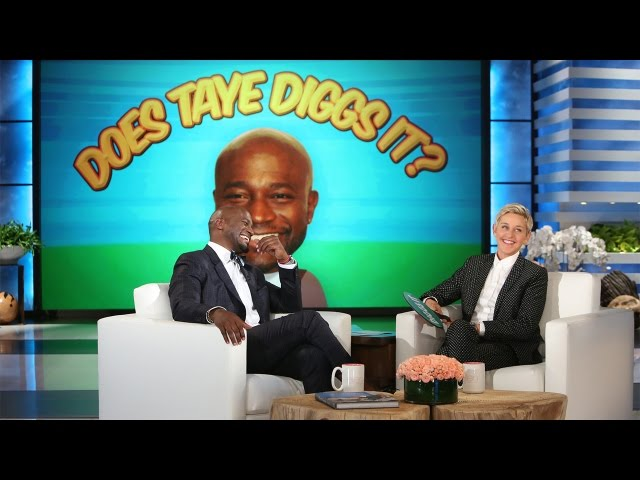 Does Taye Diggs It?