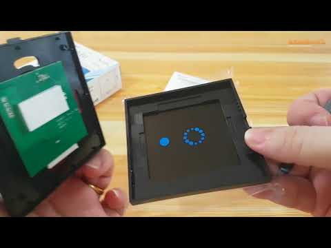 Sonoff Touch EU Smart Home Wall Switch Unboxing & Installation