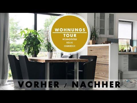 wohnungstour-/-deko-haul-|-update-wohnzimmer-/-küche-/-esszimmer-|-vorher-/-nachher-|-jucepauline