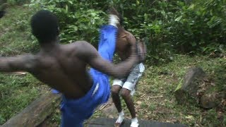 Hidden Hand Fighters Local Movie Trinidad and Tobago  (San Juan Scena) FreeTime Production