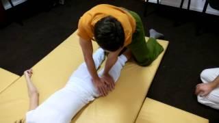 Обучение тайскому массажу. Ноги. Часть 3
