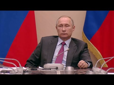 Putin Summons Russian Oligarchs To Kremlin Meeting / Moscow, Russia