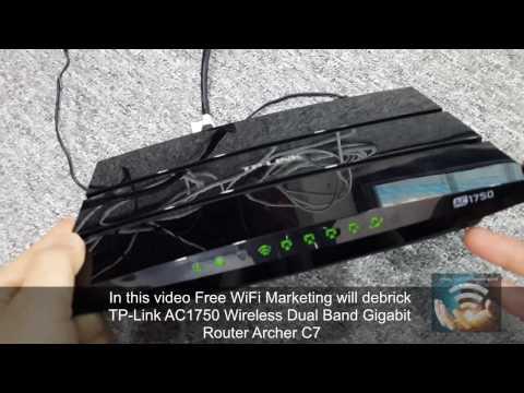 Unbrick/Debrick TP-Link Archer C7 AC1750 WiFi router TFTP no