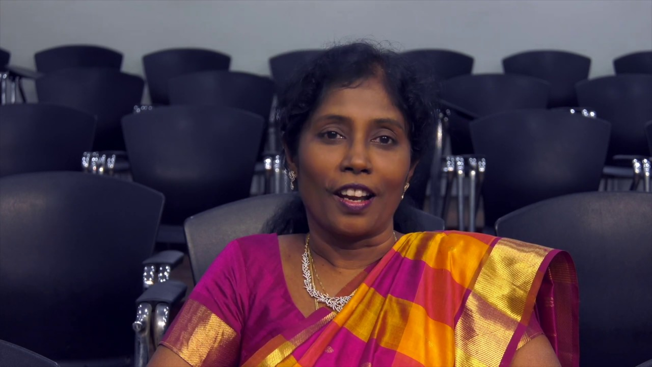 Dr Chinnadurai Amutha's Testimony for GIIS EC Campus