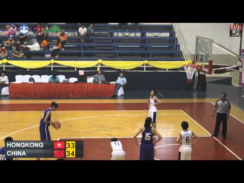 Hongkong vs China, 10 March 2015 women