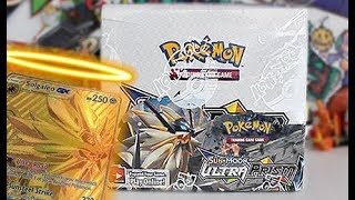 Opening A Pokemon Ultra Prism Booster Box Part 1