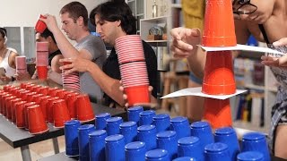 7 Fun & Cheap Party Games with Cups (Minute to Win It Games)[PART 1]