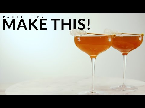 How To Make A Champagne Cocktail For New Year's Eve 2019 | Evite Recipes