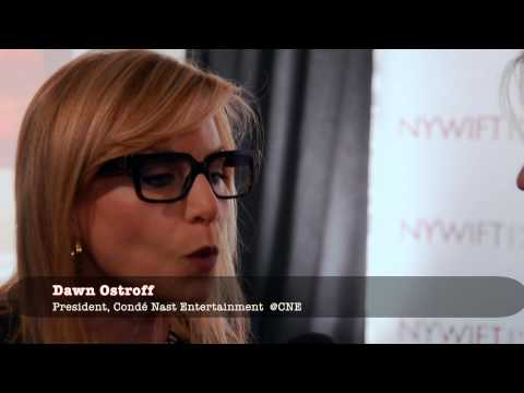Dawn Ostroff, President of Condé Nast Entertainment, a honoree at the NYWIFT's 2014 Muse Awards.