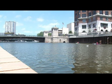 Rising River Causes Problems For Downtown Milwaukee