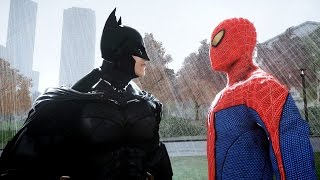 SPIDERMAN VS BATMAN - THE AMAZING SPIDER-MAN