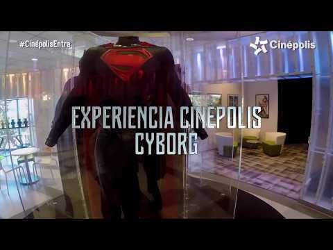 Liga de la Justicia - Experiencia Cinépolis Ronald MacKay - Oficial Warner Bros. Pictures