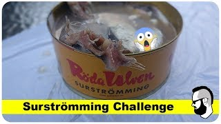 Surströmming challenge (deutsch)
