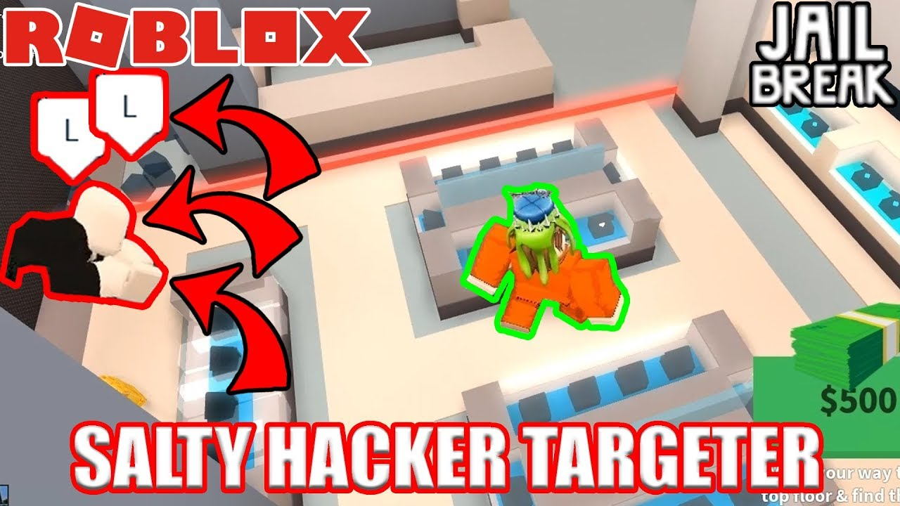 Roblox Jailbreak Arrest Hack This Guy Hacked Just To Arrest Me Roblox Jailbreak Youtube