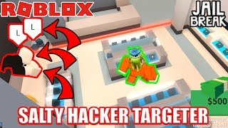 This guy HACKED JUST TO ARREST ME... | Roblox Jailbreak