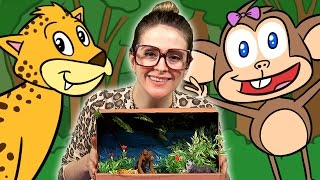 Jungle Diorama Craft - The Jungle Book Inspired | Arts And Crafts With Crafty Carol At Cool School