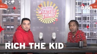 "Rich The Kid Talks Living With Migos & Being The ""Best Skater"" 