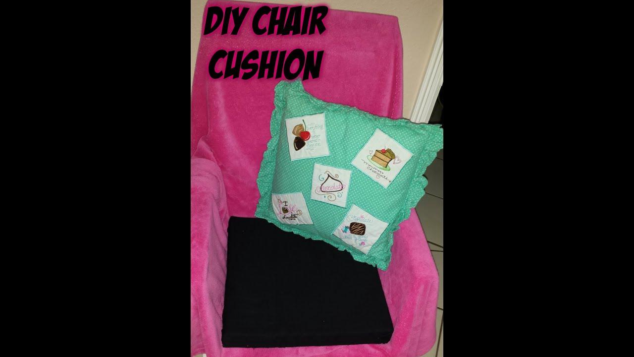 Diy Chair Cushion No Sew Marus Dental Easy Youtube