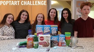 Poptart Challenge Ft My Friends Hope Paige