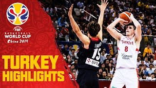 Turkey | Top Plays & Highlights | FIBA Basketball World Cup 2019