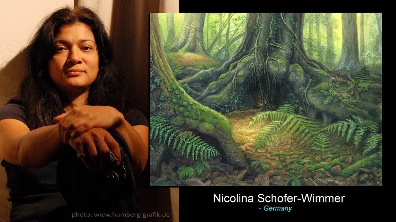 Nicolina Schöfer-Wimmer /   I often see untouched, ancient places and landscapes in my mind's eye