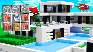 Minecraft, but You Can CRAFT Houses! *insane*