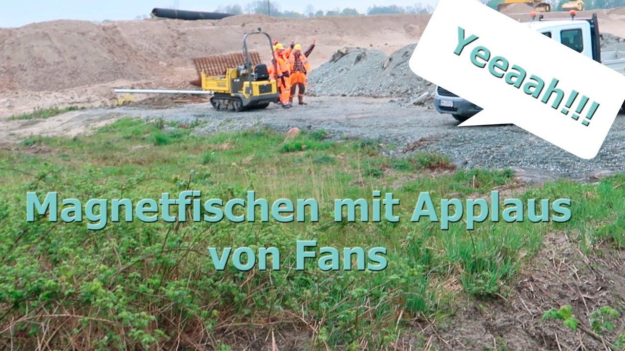 MAGNETFISCHEN mit APPLAUS von Fans! ( viele Autoteile!)