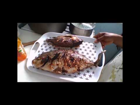 Calulu  de peixe prato típico de São Tomé e Príncipe
