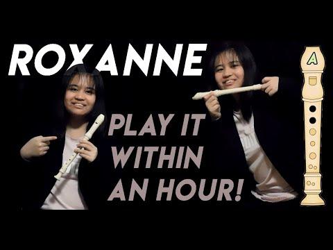 (Easy Notes) ROXANNE From TikTok Recorder/Flute Tutorial | Gabrielle Queen