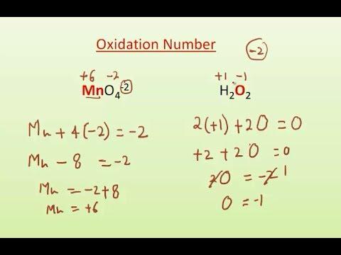 Oxidation number calculation i chemistry i redox youtube.