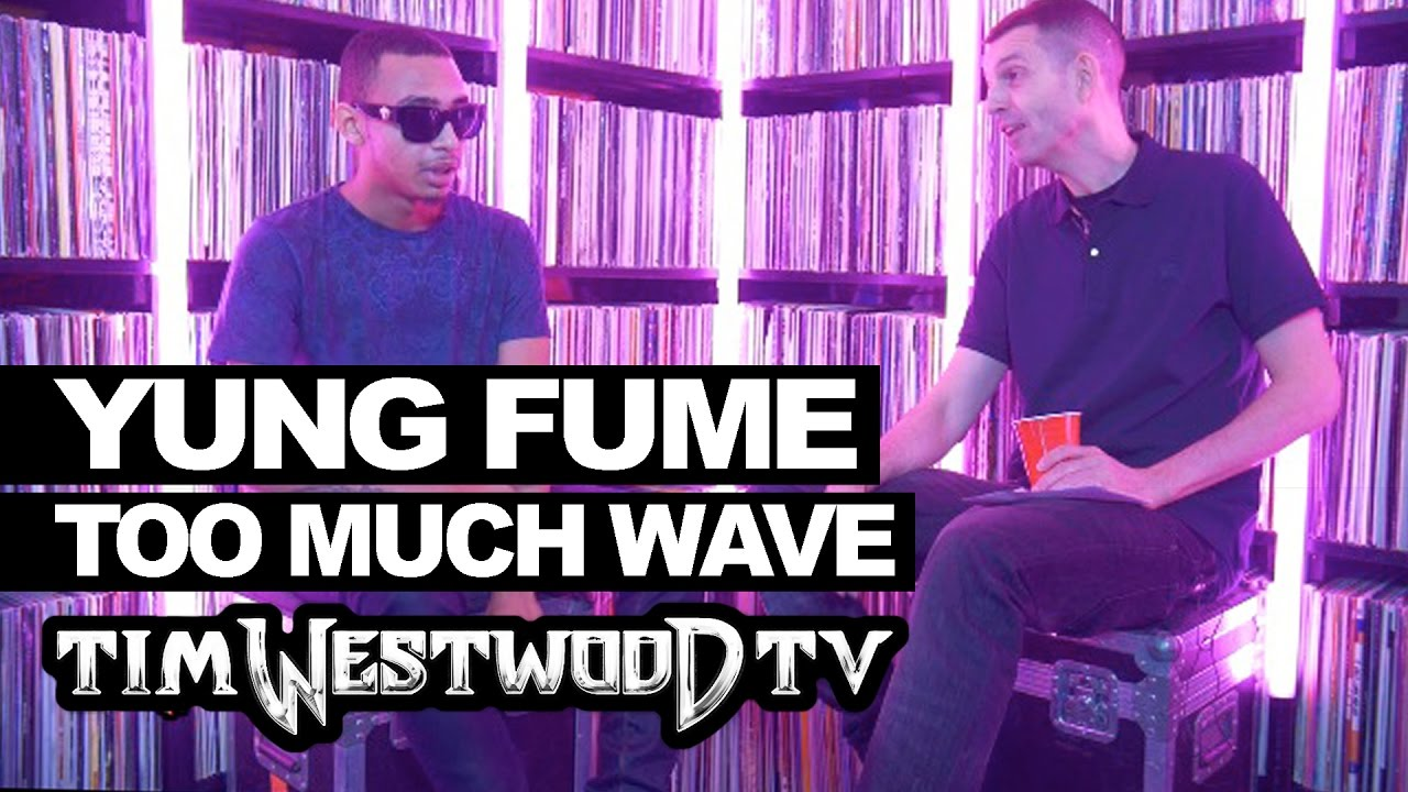 Yung Fume on Too Much Wave, Sidetings, Thornton Heath - Westwood