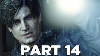 RESIDENT EVIL 2 REMAKE Walkthrough Gameplay Part 14 - PLANTS (RE2 LEON)