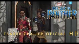 Black Panther de Marvel | Teaser tráiler oficial en español | HD