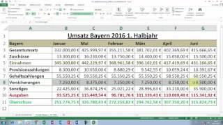 Excel Tipps und Tricks #27 Spaltenanordnung  und Zeilenanordnung effektiv durchführen
