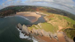 Three Cliffs Bay - Gower Peninsula Wales