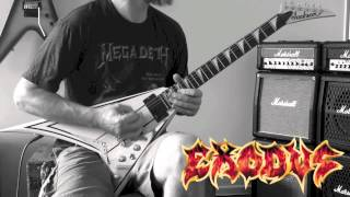 Exodus - A Lesson In Violence Guitar Cover