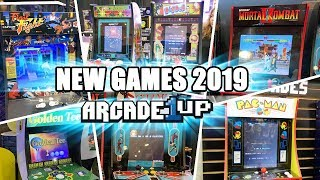 Arcade1up New Games 2019 - New Cabinets At NY Toy Fair