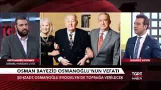 abdlhamid kayihan osmanoğlu 9 ocak 2016 tgrt haber