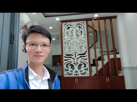 Livestream Bán Nhà Mới Xây Rất Đẹp, Trệt 2 Lầu (Có Sân Thượng) Đường Bông Sao P5 Quận 8