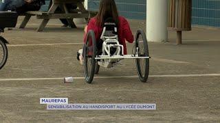 Yvelines | Sensibilisation au handisport au lycée Dumont D'urville de Maurepas