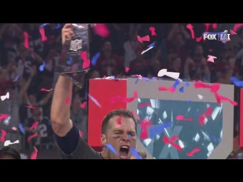 Super Bowl 51 FULL Game Celebration! Patriots win OT (Tom Brady Post Game Speech)