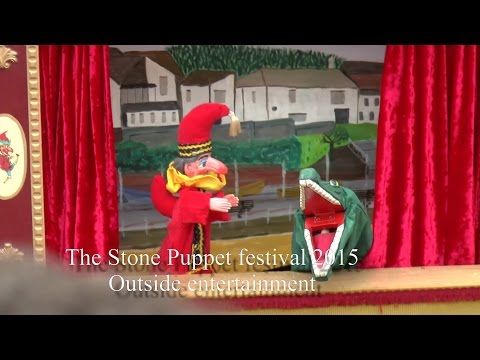 The Stone Puppet Festival 2015 Outside Entertainment