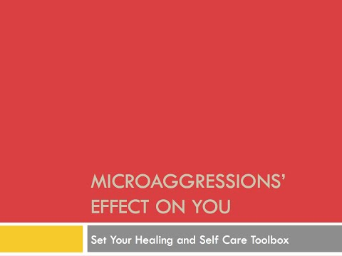 EPIP Webinar Microaggressions and Self Care Toolbox