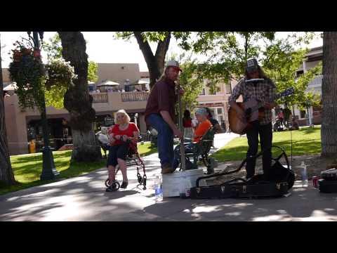 Street Music - Bring It On Down To My House Honey - Santa Fe, New Mexico, USA. 2014