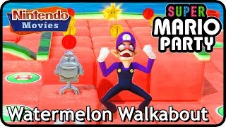 Super Mario Party: Watermelon Walkabout (Partner Party, 2 players, 20 turns, Master Difficulty)